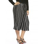 Plus Size Striped High Waisted Palazzo Pants deal