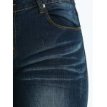 best Plus Size Frayed Crease Pencil Jeans