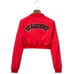 cheap Appliques Embroidery Long Sleeve Jacket