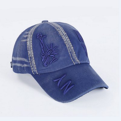 Chic Statue of Liberty Letters Embroidery Baseball Hat For Men