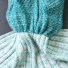High Quality Knitted Warmth Comfortable Mermaid Tail Blanket deal