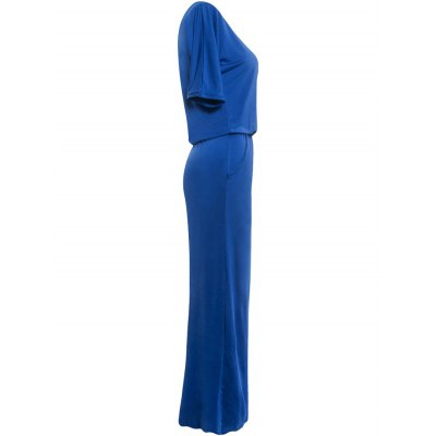 Skew Neck Slit Party Tall Maxi DressMaxi Dresses<br>Skew Neck Slit Party Tall Maxi Dress<br><br>Dresses Length: Floor-Length<br>Material: Cotton Blend, Polyester, Spandex<br>Neckline: Jewel Neck<br>Package Contents: 1 x Dress<br>Pattern Type: Solid<br>Season: Fall<br>Silhouette: Straight<br>Sleeve Length: Half Sleeves<br>Style: Casual<br>Weight: 0.303kg<br>With Belt: No