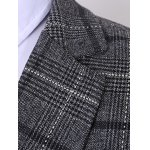 best Plus Size Lapel Single Breasted Tartan Long Sleeve Three-Piece Suit ( Blazer + Waistcoat + Pants )