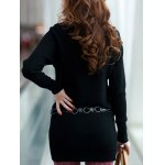 Long Sleeves Knitted Mini Dress deal