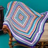 cheap Ethnic Style Knitted Rhombus Geometry Soft Sofa Blanket