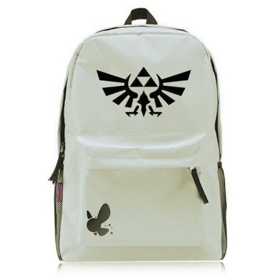 Casual Colour Splicing and Canvas Design Backpack For Men