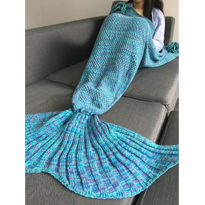Warmth Flowers Decor Crocheted Knitted Mermaid Tail Shape BlanketBedding<br>Warmth Flowers Decor Crocheted Knitted Mermaid Tail Shape Blanket<br><br>Material: Acrylic<br>Package Contents: 1 x Blanket<br>Pattern Type: Others<br>Size(L*W)(CM): 180*90CM<br>Type: Knitted<br>Weight: 0.945kg
