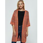 cheap Brief Women's Hollow Out Knitted Cardigan