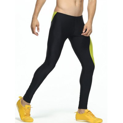 Color Splicing Skinny Elastic Waist Gym PantsWeight Lifting Clothes<br>Color Splicing Skinny Elastic Waist Gym Pants<br><br>Material: Polyester<br>Pattern Type: Patchwork<br>Weight: 0.250kg<br>Package Contents: 1 x Pants