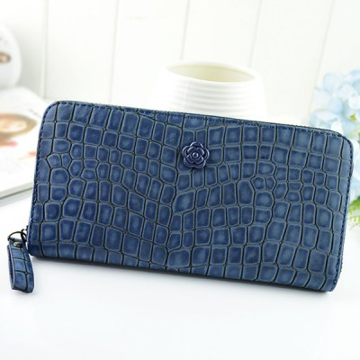 Zip-Around Floral Stone Pattern WalletWomens Wallets<br>Zip-Around Floral Stone Pattern Wallet<br><br>Wallets Type: Clutch Wallets<br>Gender: For Women<br>Style: Fashion<br>Closure Type: Zipper<br>Pattern Type: Solid<br>Main Material: PU<br>Length: 20CM<br>Width: 2.5CM<br>Height: 10.5CM<br>Weight: 0.350kg<br>Package Contents: 1 x Wallet