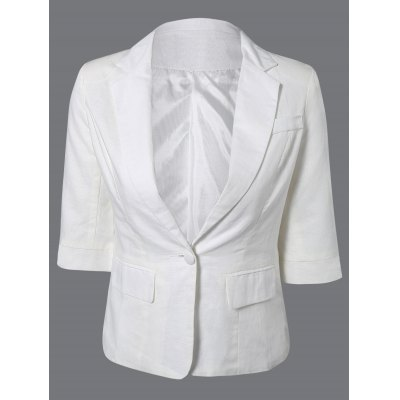 One Button Breathable Blazer