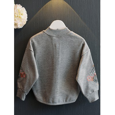 High-Low Retro Embroidery JacketGirls Clothing<br>High-Low Retro Embroidery Jacket<br><br>Clothes Type: Jackets<br>Material: Cotton,Polyester<br>Type: Slim<br>Clothing Length: Regular<br>Sleeve Length: Full<br>Collar: Stand-Up Collar<br>Closure Type: Zipper<br>Pattern Type: Plant<br>Embellishment: Embroidery<br>Style: Casual<br>With Belt: No<br>Weight: 0.268kg<br>Package Contents: 1 x Jacket