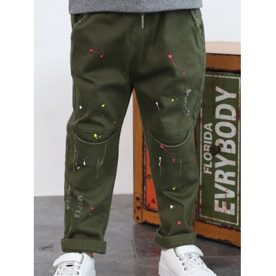 Painting Ripped Pants