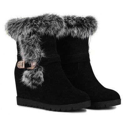 Increased Internal Buckle Short Boots
