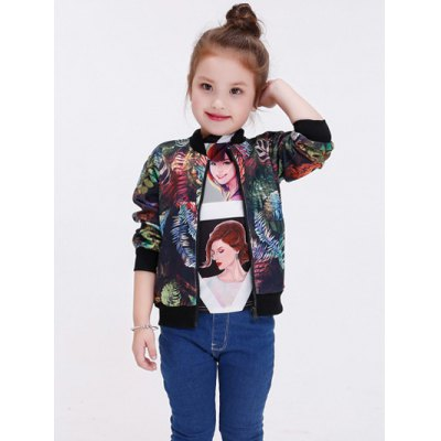 Floral Printed Long Sleeve Baseball JacketGirls Clothing<br>Floral Printed Long Sleeve Baseball Jacket<br><br>Clothes Type: Jackets<br>Material: Polyester<br>Type: Slim<br>Clothing Length: Regular<br>Sleeve Length: Full<br>Collar: Stand-Up Collar<br>Pattern Type: Floral<br>Embellishment: Zippers<br>Style: Fashion<br>With Belt: No<br>Weight: 0.219kg<br>Package Contents: 1 x Jacket