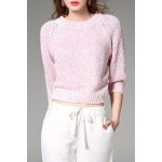 Sequined Short Sweater