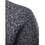 Round Neck Knit Blends Long Sleeve Sweater deal