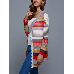 Colorful Print Thin Cardigan for sale