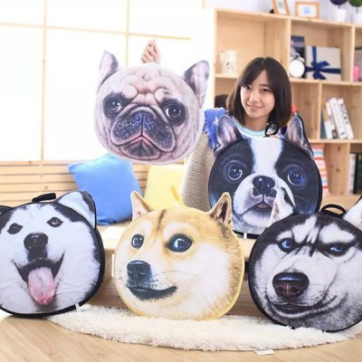 detachable-akita-dog-shape-soft-plush-sponge-padding-sofa-cushion