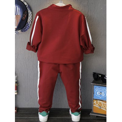 kids-letter-pattern-sports-suit