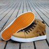 Color Splicing Striped Pattern Tie Up Casual Shoes for sale
