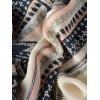 best Casual Cross Photo Frame Fringed Edge Square Scarf