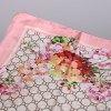 Casual Flower Round Mesh Satin Shawl Scarf for sale