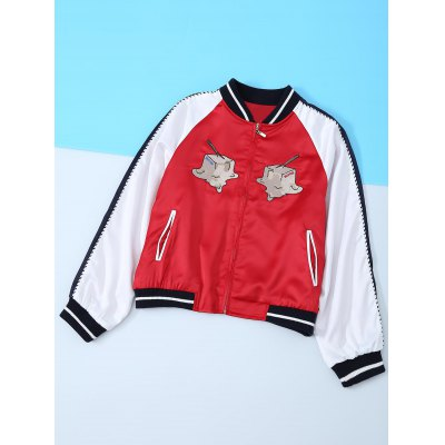 Hamburg Appliques Long Sleeve Jacket