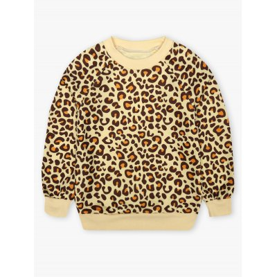 Kids Leopard Print Sweatshirt + Mini SkirtGirls Clothing<br>Kids Leopard Print Sweatshirt + Mini Skirt<br><br>Material: Polyester<br>Clothing Length: Regular<br>Sleeve Length: Full<br>Style: Casual<br>Pattern Style: Leopard<br>Weight: 0.341kg<br>Package Contents: 1 x Sweatshirt  1 x Skirt