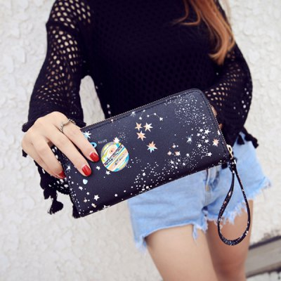 PU Leather Star Pattern Colour Block WalletWomens Wallets<br>PU Leather Star Pattern Colour Block Wallet<br><br>Wallets Type: Clutch Wallets<br>Gender: For Women<br>Style: Fashion<br>Closure Type: Zipper<br>Pattern Type: Star<br>Main Material: PU<br>Length: 20CM<br>Width: 2CM<br>Height: 10CM<br>Weight: 0.150kg<br>Package Contents: 1 x Wallet