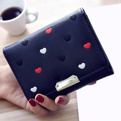Metal Embroidery Wallet