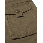 best Plus Size Zipper Fly Pockets Design Cargo Pants