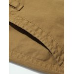 Plus Size Straight Leg Embroidery Pockets Design Cargo Pants for sale