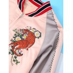 Tiger Embroidery Long Sleeve Jacket for sale