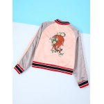 cheap Tiger Embroidery Long Sleeve Jacket