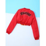 Appliques Embroidery Long Sleeve Jacket deal