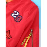 Appliques Embroidery Long Sleeve Jacket photo