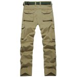 cheap Plus Size Straight Leg Zipper Pockets Design Applique Cargo Pants