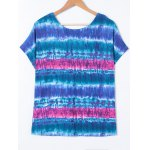 best Plus Size Tie-Dye T-Shirt