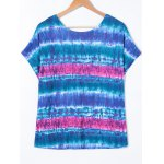 Plus Size Tie Dye T-Shirt photo