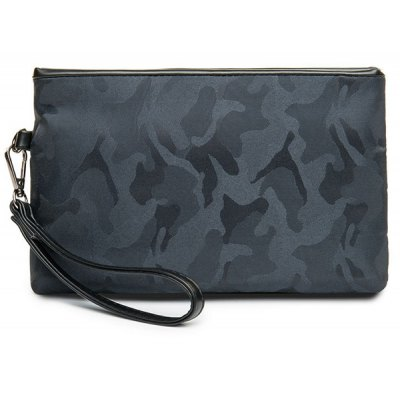 Camouflage Pattern Nylon Clutch Bag