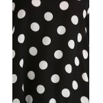 Plus Size Polka Dot Baggy Dress for sale