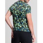 Quick-Dry Fitted Camouflage Printed Short Sleeve T-Shirt deal