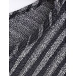 Striped Poncho Sweater deal