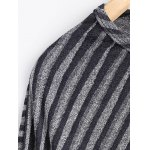 Striped Poncho Sweater for sale