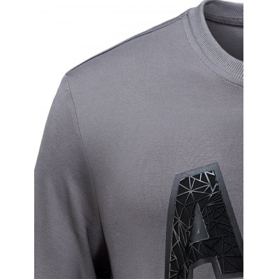 Brief Style Crew Neck Letter Printed SweatshirtPlus Size Tops<br>Brief Style Crew Neck Letter Printed Sweatshirt<br><br>Material: Cotton,Polyester<br>Sleeve Length: Full<br>Collar: Crew Neck<br>Style: Active<br>Pattern Type: Letter<br>Season: Fall,Spring<br>Weight: 0.450kg<br>Package Contents: 1 x Sweatshirt