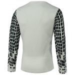 Round Neck Long Sleeve Print T-Shirt For Men photo