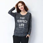 cheap Loose-Fitting Letter Print T-Shirt