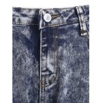 best Fresh High Waisted Snow Wash Skinny Jeans