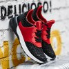 Lace-Up Geometric Print Flock Athletic Shoes deal